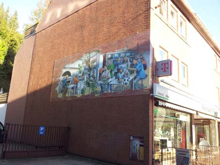 Fassade Lange Straße 129a