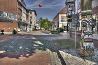 Blick in die Lange Straße