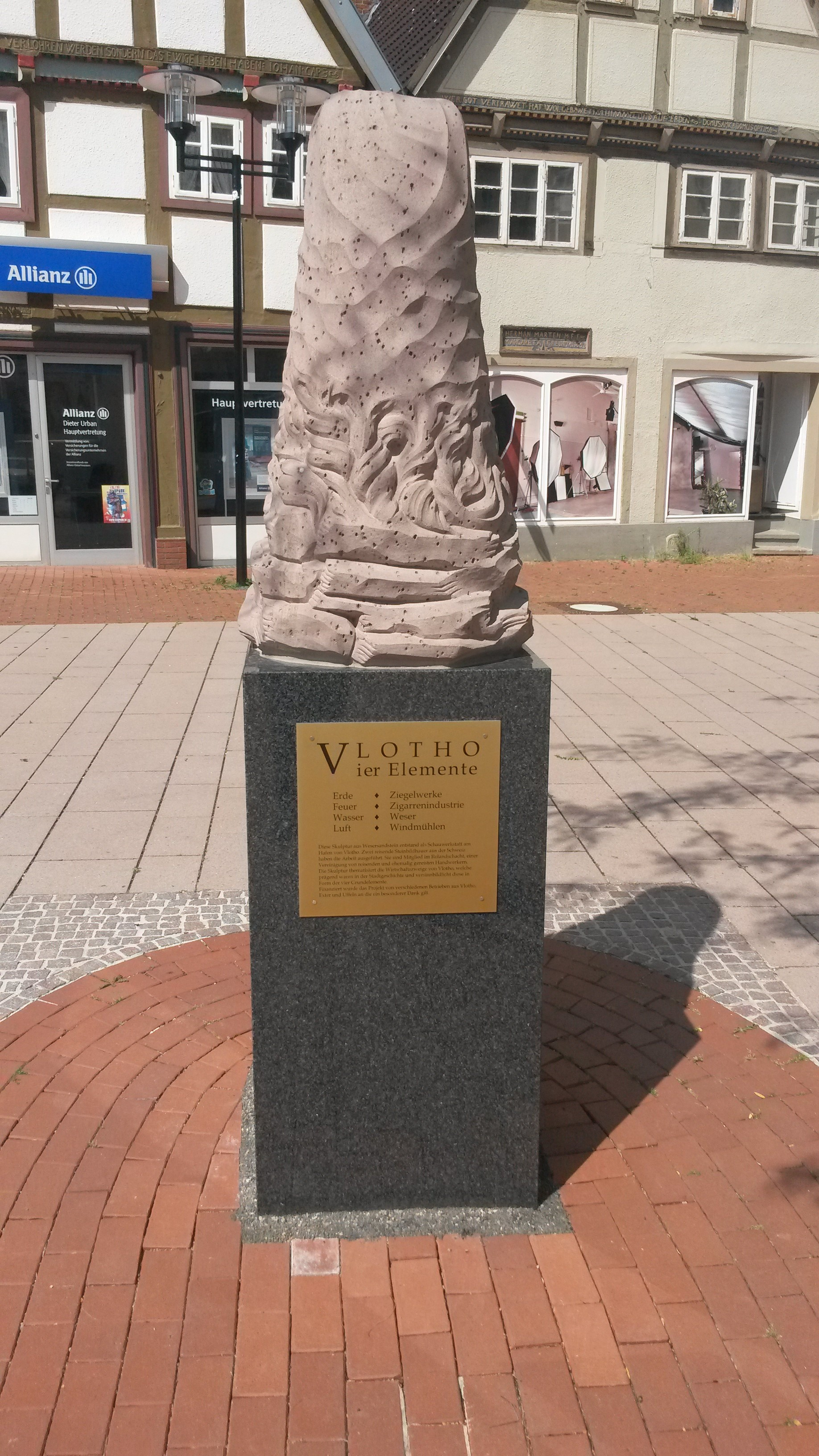 Skulptur Lange Straße 80