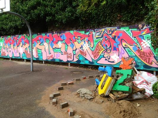Graffitiwand JUZ