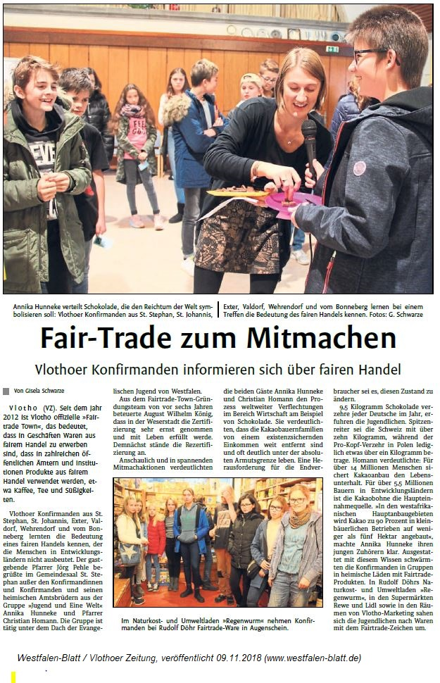 Fair-Trade zum Mitmachen