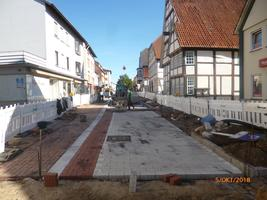 Barrierefreie Umgestaltung - Obere Lange Straße