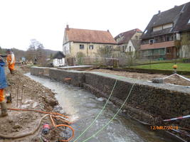 Forellenbach Baustelle 2