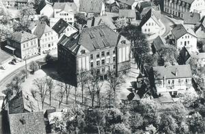 Bürgerschule um 1950