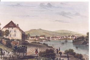 Hafen um 1850