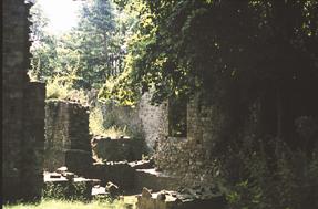 Burgruine auf dem Amthausberg