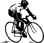 Radfahrer Clipart SW