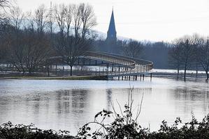Weser-werre-Kuss Brücke
